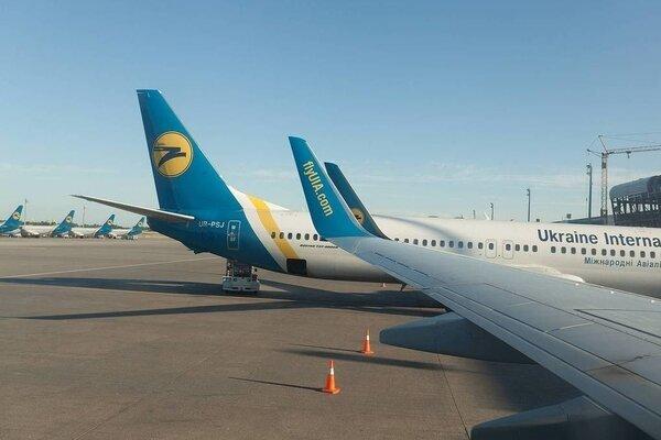 کلیه پروازهای میان اوکراین و بلاروس لغو شد
