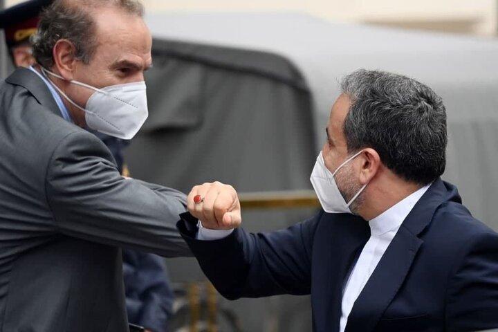 دیدار عراقچی با معاون دبیرکل سرویس اقدام خارجی اتحادیه اروپا