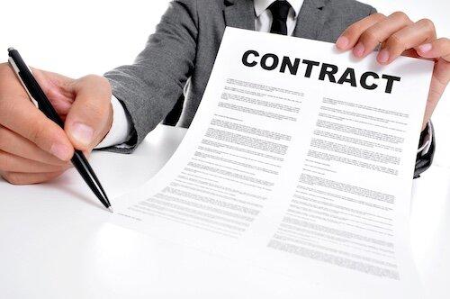 ۵ اصول اولیه برای مدیریت قراردادها