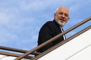 محمدجواد ظریف وارد ارمنستان شد