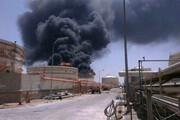 حادثه مرگبار انفجار خط انتقال اکسیژن پتروشیمی مبین؛ یک کشته و دو مصدوم / فیلم