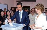 واکنش مردم سوریه به پیروزی بشار اسد در انتخابات ریاست جمهوری / فیلم