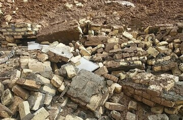 ریزش مرگبار دیوار در کوهچنار / ۲ جوان کشته شدند