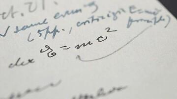 دستنوشته معروف اینشتین چقدر فروخته شد؟