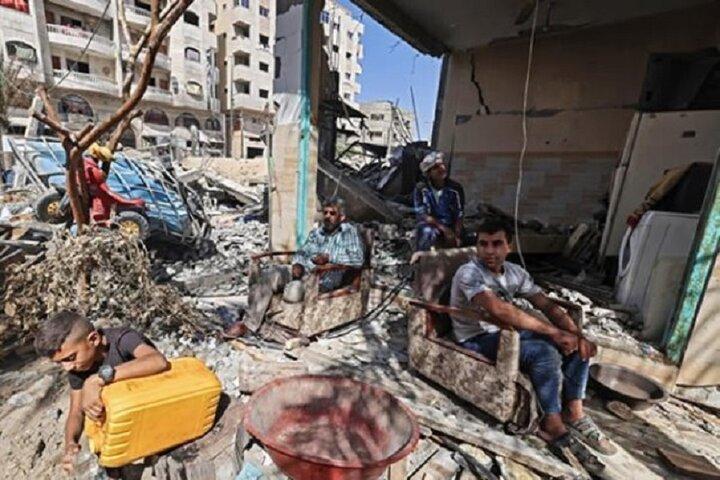 قطر به بازسازی غزه کمک میکند