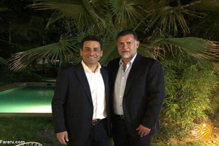 دیدار علی دایی با سفیر لبنان در تهران