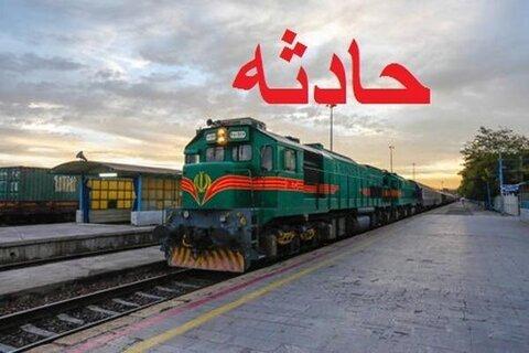 قطار مسافربری یزد به تهران آتش گرفت