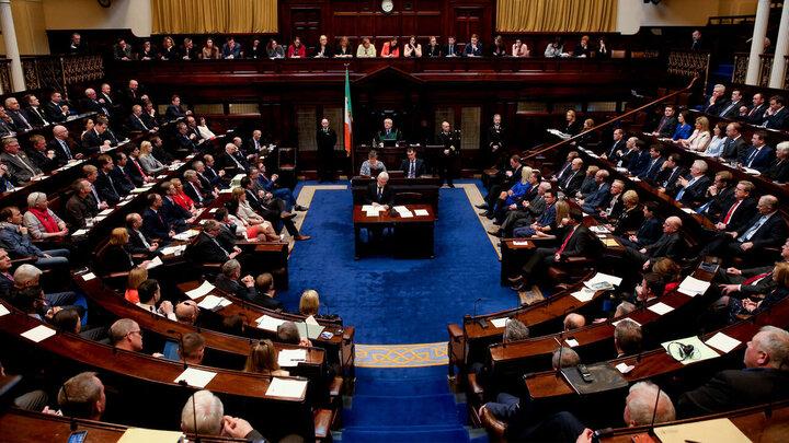 تصویب لایحه ضدصهیونیستی در پارلمان ایرلند