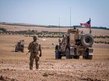 وقوع انفجار در مسیر کاروان تدارکاتی آمریکا در عراق