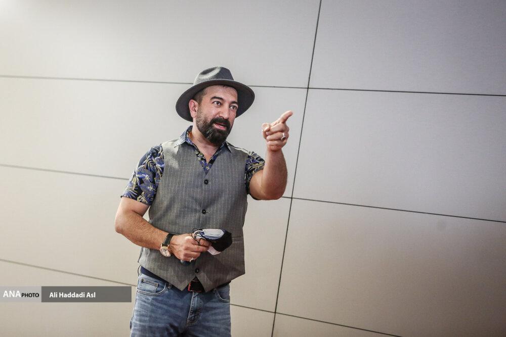 مجید صالحی در نخستین روز از سی و هشتمین جشنواره جهانی فیلم فجر