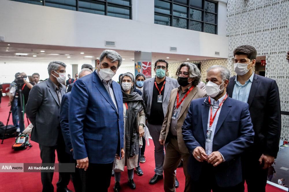 پیروز حناچی در نخستین روز از سی و هشتمین جشنواره جهانی فیلم فجر