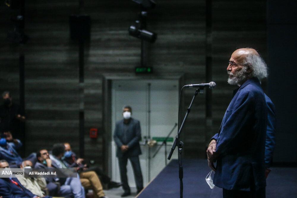 کیانوش عیاری در نخستین روز از سی و هشتمین جشنواره جهانی فیلم فجر