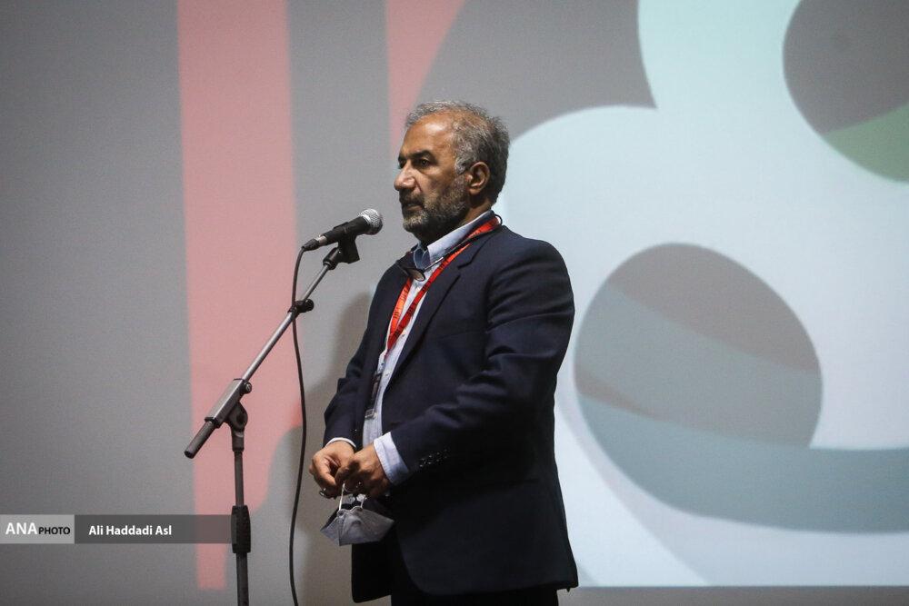 محمد مهدی عسگرپور در نخستین روز از سی و هشتمین جشنواره جهانی فیلم فجر
