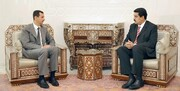 مادورو  به بشار اسد تبریک گفت