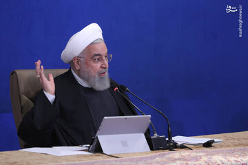 روحانی: از مردم خواهش میکنیم سفر نروند / فیلم