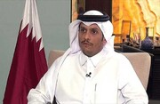 وزیر خارجه قطر: قصد نداریم روابط با نظام سوریه را از سر بگیریم
