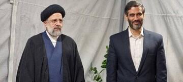 سعید محمد به دیدار رئیسی رفت