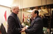 رییس سازمان اطلاعات مصر با گانتس دیدار کرد