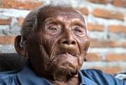 راز عمر طولانی پیرترین مرد جهان فاش شد! / عکس