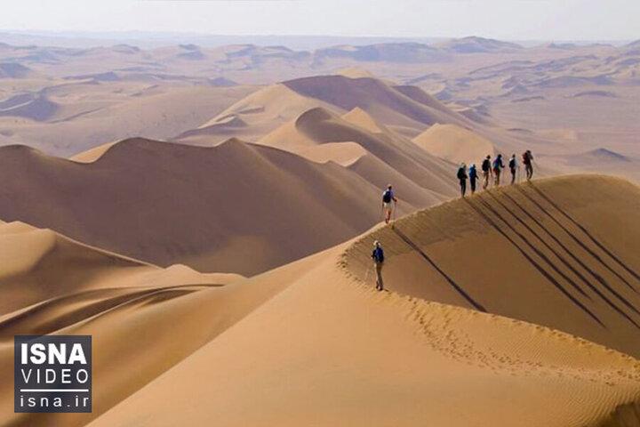 این منطقه ایران با ۸۱ درجه سانتیگراد گرمترین نقطه جهان است / فیلم