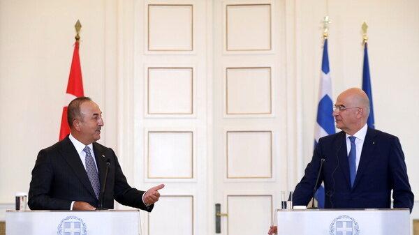 آمادگی ترکیه برای گفتوگو با یونان