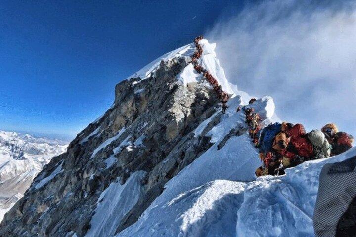 صعود باورنکردنی کوهنورد نابینا به اورست / فیلم