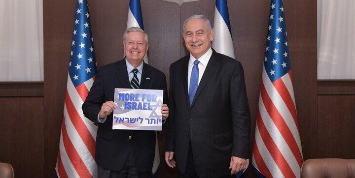 تشکر نتانیاهو از گراهام به دلیل حمایتهایش از رژیم صهیونیستی
