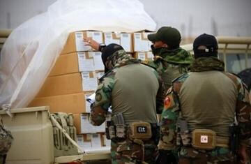 تحویل ۳ میلیون دلار سلاح به عراق از سوی ائتلاف آمریکایی