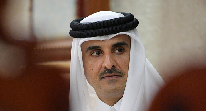 درخواست امیر قطر برای تسریع در تشکیل دولت لبنان