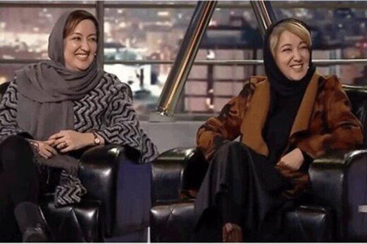 توهین عجیب خواهر پانتهآ بهرام به مردم در برنامه همرفیق / فیلم