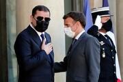دیدار ماکرون با نخستوزیر لیبی
