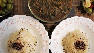 خورشت ماشو یا گل گندم، غذای اصیل سمنانی / فیلم
