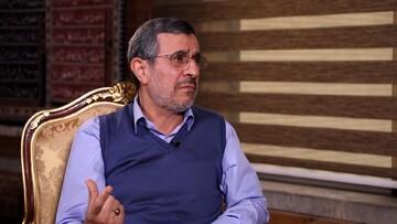 اظهارات جدید محمود احمدی نژاد درباره دیدن «هاله نور» / فیلم