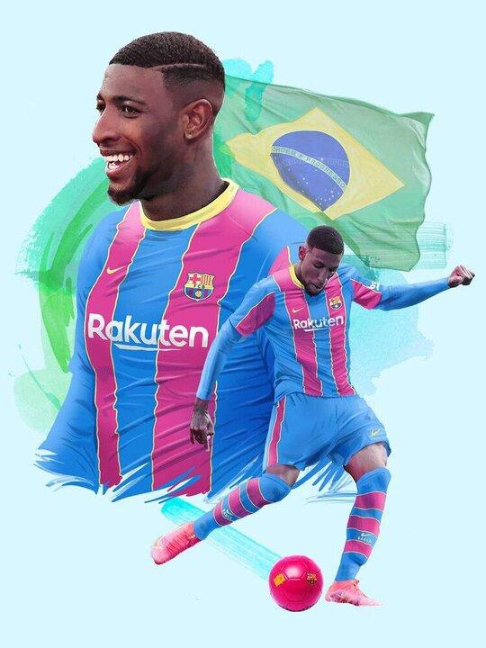 امرسون با عقد قراردادی به بارسلونا پیوست