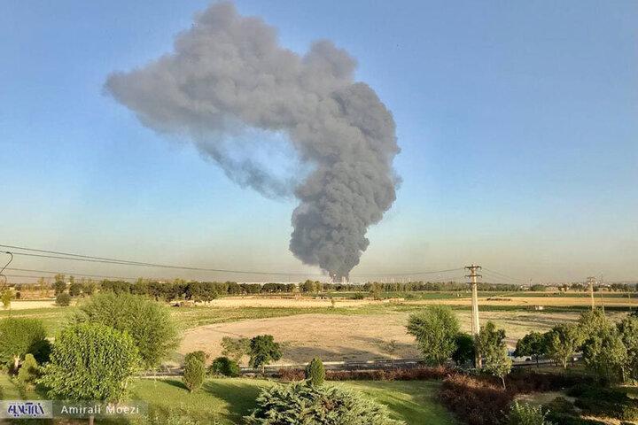 منشا آتشسوزی بزرگ در جنوب تهران مشخص شد