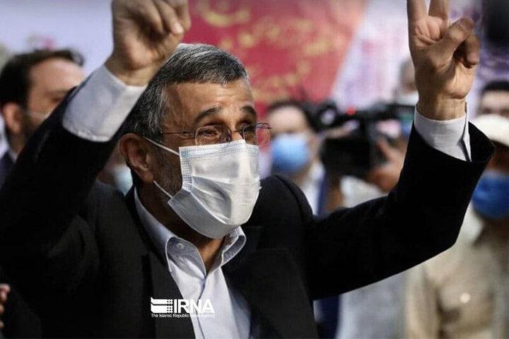عبدالرضا داوری، احمدی نژاد را تهدید کرد