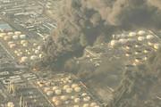 آتش در پالایشگاه نفت تهران دوباره شعلهور شد / فیلم