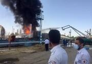 وضعیت پالایشگاه تهران ۲۱ ساعت پس از آتش سوزی / فیلم
