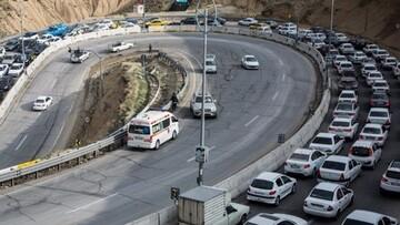 آخرین وضعیت ترافیکی جادههای کشور ۱۳ خرداد ۱۴۰۰ / کدام جادهها ترافیک سنگین دارند؟