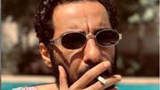 عینک عجیب و غریب نوید محمدزاده / عکس