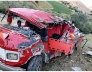 تصادف هولناک در محور سقز ــ مریوان با ۱۵ کشته و زخمی / عکس