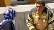 آتشنشانی که دختر تهرانی را از خودکشی منصرف کرد / فیلم