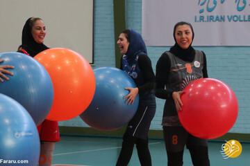 تصاویر عجیب و نگرانکننده از اردوی تیم ملی والیبال زنان ایران!