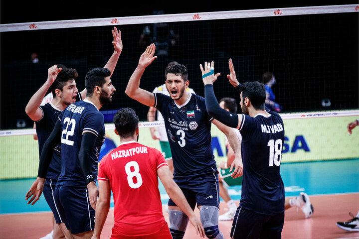 برد مقتدرانه والیبال ایران با ترکیبی جوان مقابل بلغارستان