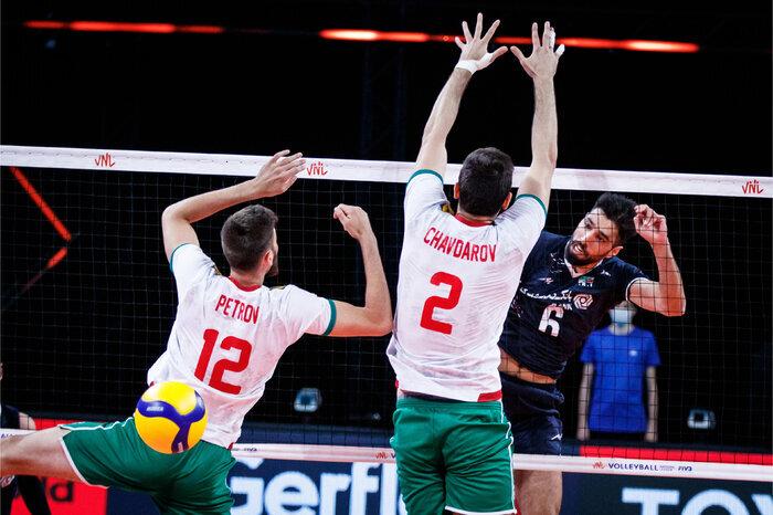 والیبال ایران با ترکیبی جوان بلغارستان را شکست داد