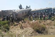 برخورد مرگبار دو قطار؛ ۳۰ کشته و ۵۰ زخمی بر جای گذاشت / فیلم
