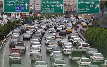 خروجیهای تهران و ترمینالها در تعطیلات اخیر شلوغ بود