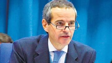 استقبال گروسی از نامه رییس سازمان اتمی ایران