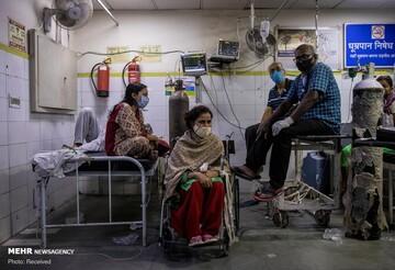 آخرین آمار کرونا در هند / شمار مبتلایان از ۲۸ میلیون نفر گذشت