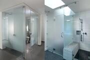 شیشه حمام یا شیشه دور دوشی